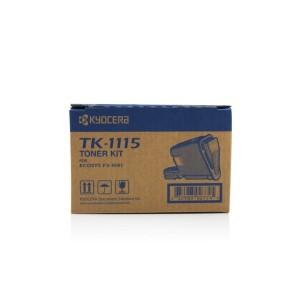 ТОНЕР KYOCERA FS-1220D TK1115 ЧЕРЕН Оригинални консумативи за лазерни принтери и МФУ