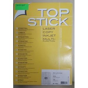 Етикети за принтер TOP STICK 38,1x21,2 mm