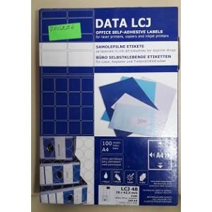 Етикети за принтери DATA LCJ 70x42.3 mm