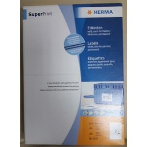 Етикети за принтер Super Print HERMA  210x148