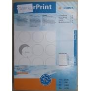 Етикети за принтер Super Print HERMA Ф 40