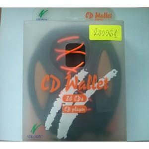 Кръгъл калъф за CD 20 БР Дискове, дискети