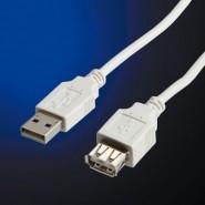 КАБЕЛ USB A/А 1,8М УДЪЛЖИТЕЛ