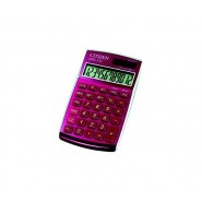 Настолен калкулатор Citizen CPC112 розов Калкулатори
