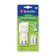 Зарядно за батерии Verbatim 2 гнезда + 2x AAA батерии Батерии и зарядни