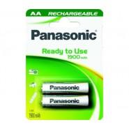 Батерия Panasonic акумулаторна LR06 АА 1900MA 2бр. в блистер Батерии и зарядни