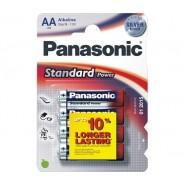 БАТЕРИЯ PANASONIC STANDART LR06 AA 4БР./БЛИСТЕР Батерии и зарядни