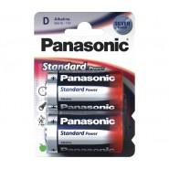БАТЕРИЯ PANASONIC STANDART LR20D 2БР./БЛИСТЕР Батерии и зарядни